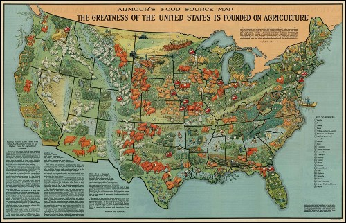 American agriculture in 1922