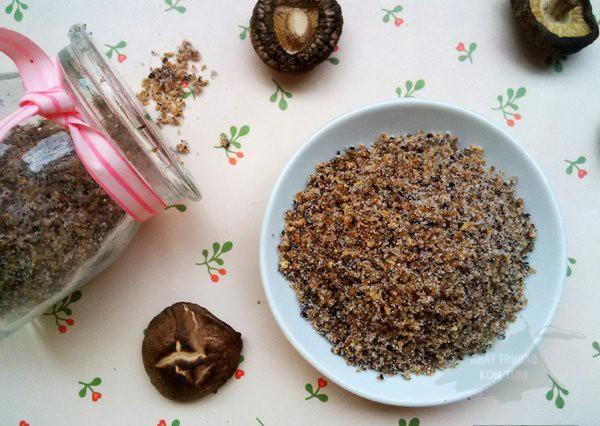 hạt nêm nấm hương