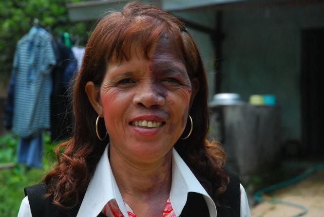 Nữ hạt trưởng kiểm lâm Chu Thị Phiến - Ảnh: T.B.D.