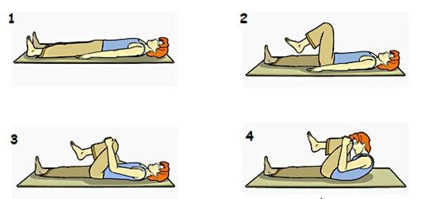 bài tập Yoga đơn giản giúp bụng phẳng eo thon 1