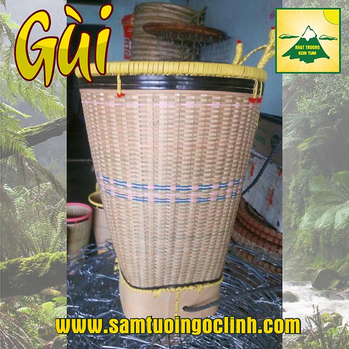 Gùi dân tộc bản địa Kon Tum