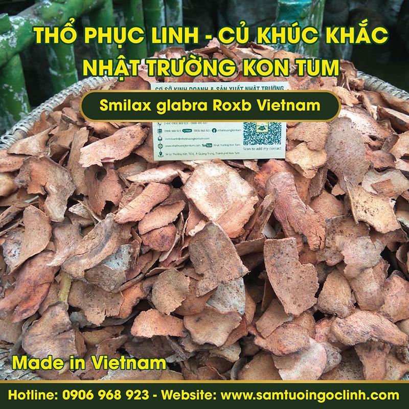Củ Khúc Khắc, Thổ Phục Linh Kon Tum