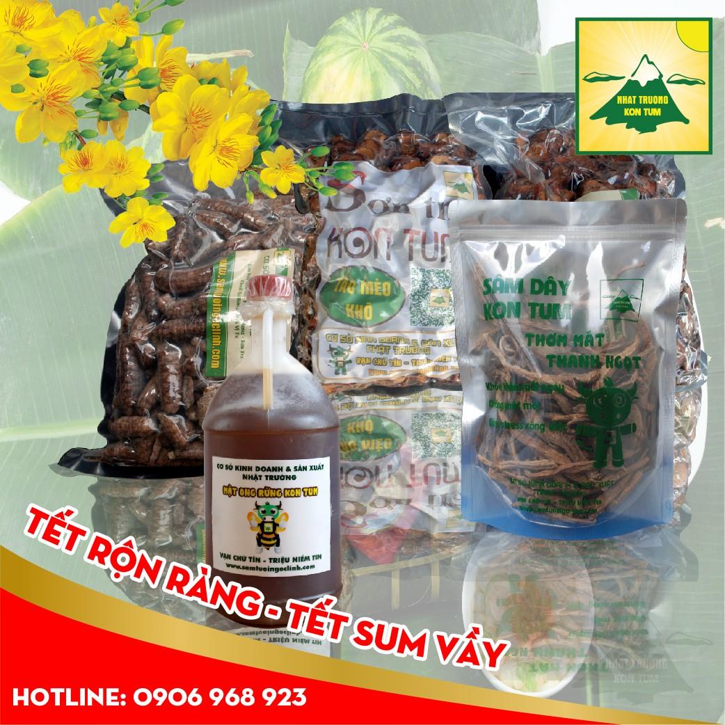 Sản vật Kon Tum - Sâm Dây Kon Tum, Chuối Hột Rừng, Táo Mèo, Mật Ong Rừng...