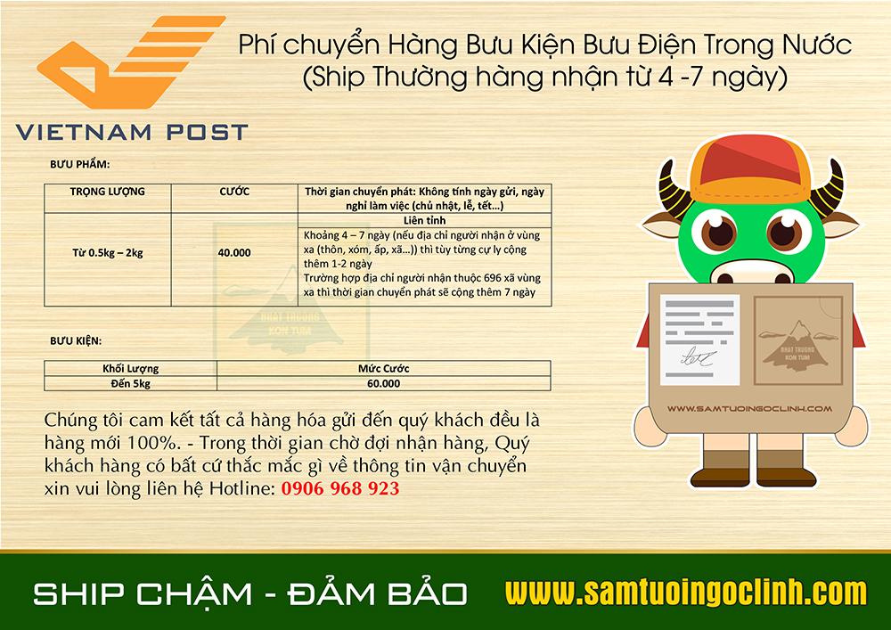 chi phí vận chuyển nhanh và thường (2)